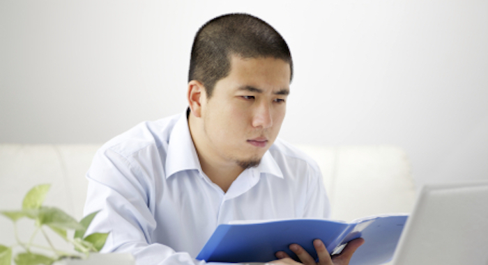 accountant accessing tax information