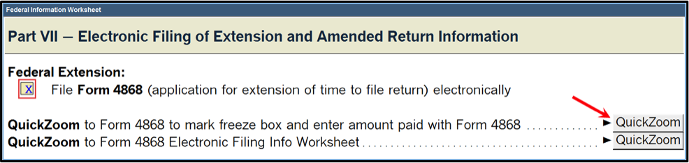 Proseries Extensions And How To Report Them Tax Pro Center