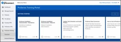 Intuit ProConnect ProSeries Training Portal 2018